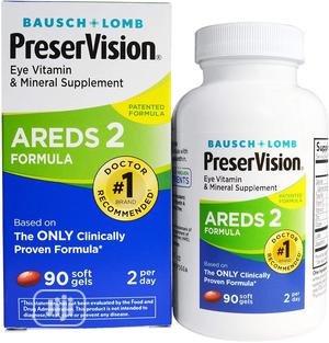 Bausch Lomb Preservision AREDS 2 Formula 90 Soft Gels   Vitamins & Supplements for sale in Lagos State, Ojo