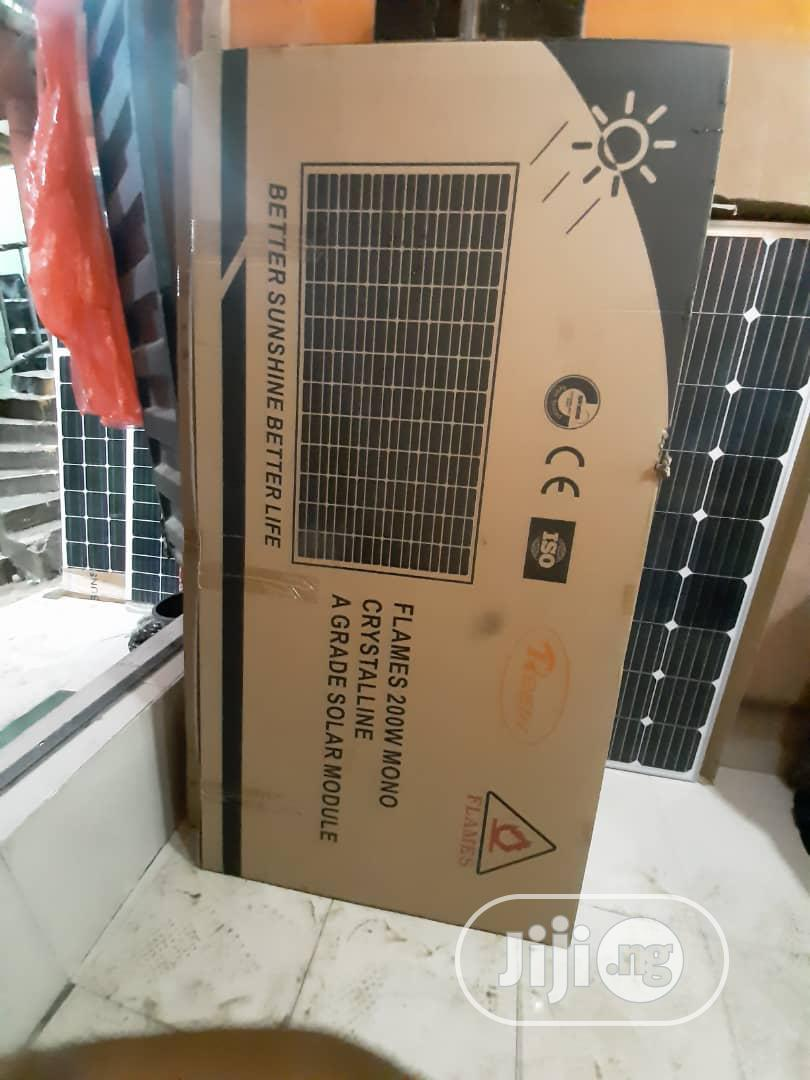 24V 300w FLAMES Solar Panels