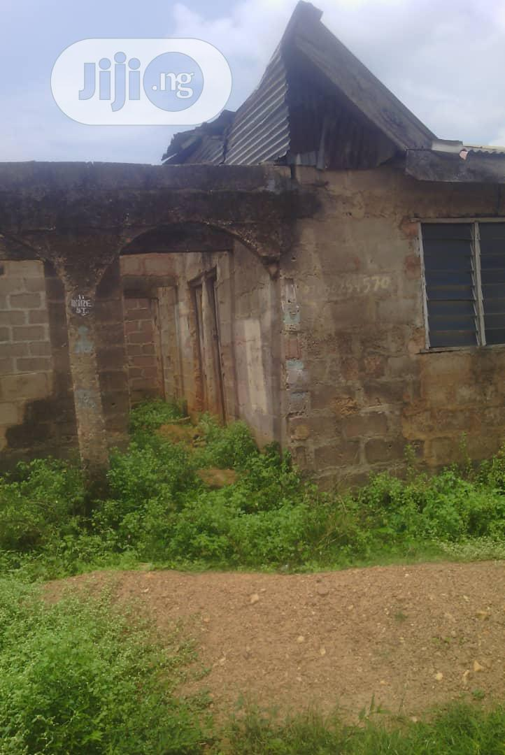 Half Plot Of Land With Structure For Sale   Land & Plots for Rent for sale in Ado-Odo/Ota, Ogun State, Nigeria