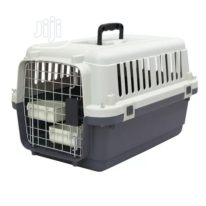 New Airline Approved Travelling Pet Aviation Carrier Cage
