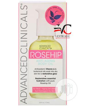 Advanced Clinicals Rosehip Anti-aging Body Oil 112 Ml | Skin Care for sale in Lagos State, Ojo
