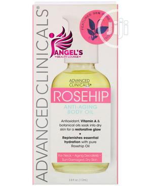 Advanced Clinicals, Rosehip, Anti-aging Body Oil - 112ml | Skin Care for sale in Lagos State, Ojo