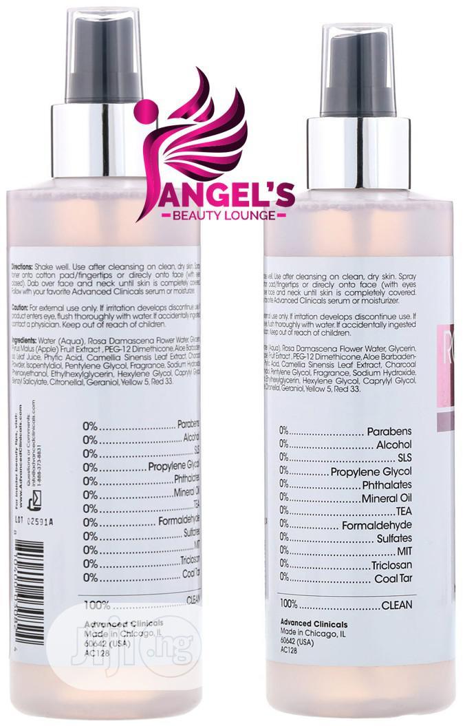 Advanced C. , Rosewater Toner, Tone Tighten Formula - 237 Ml   Skin Care for sale in Ojo, Lagos State, Nigeria