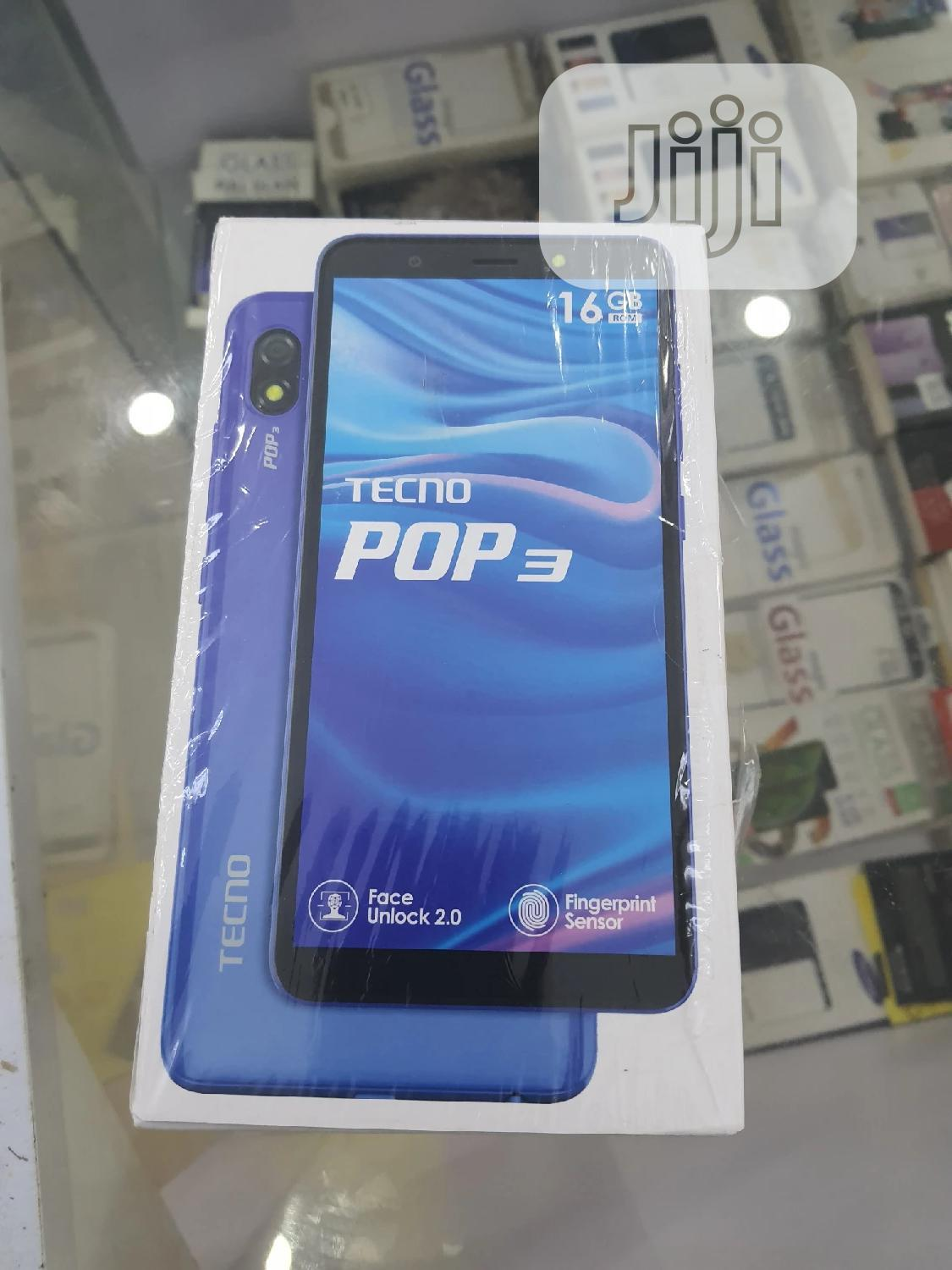 New Tecno Pop 3 16 GB Black | Mobile Phones for sale in Isolo, Lagos State, Nigeria
