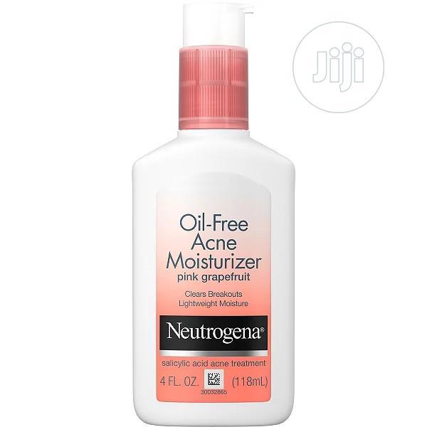 Archive: Neutrogena Oil Free Acne Moisturizer