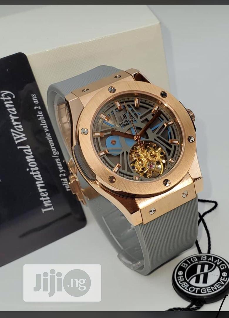 Archive: Hublot Rubber Wrist Watch Good Quality With Guaranteed