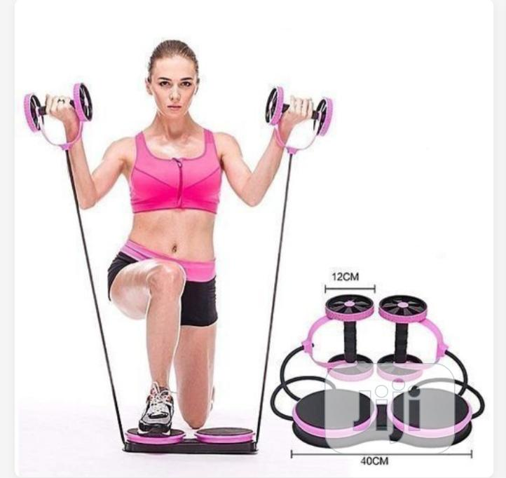 Multifunctional Abdominal Wheel Roller Fitness For Abdominal Fitness
