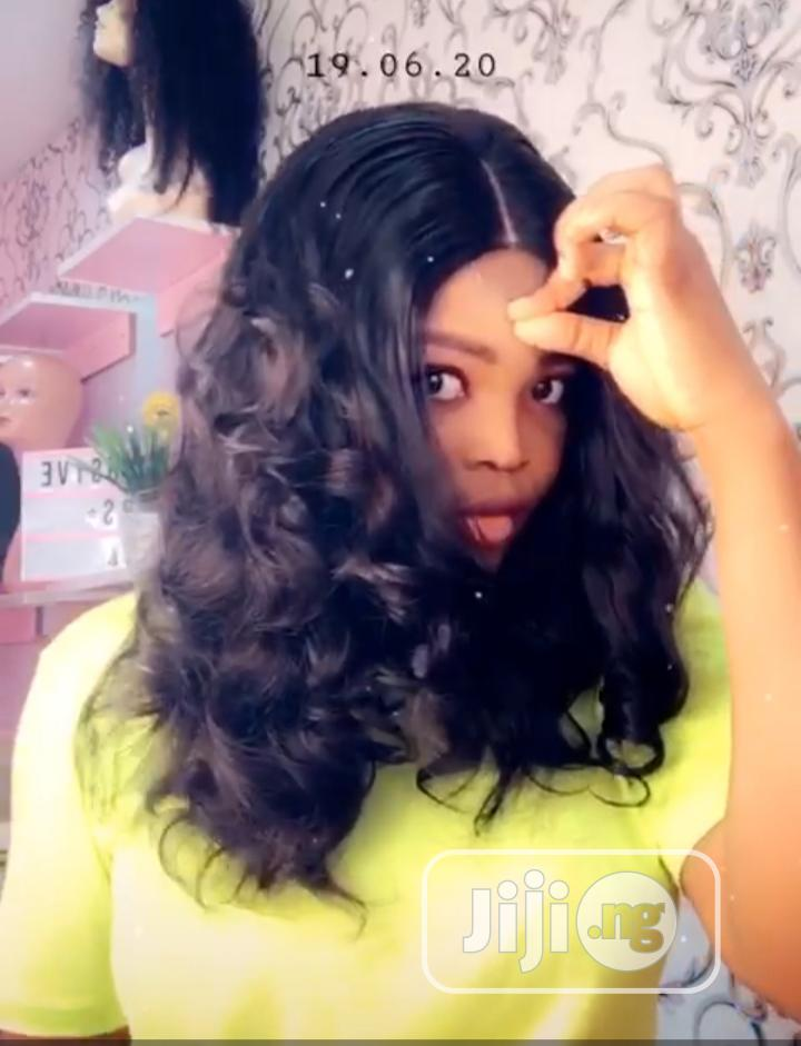 Archive: Bouncy Closure Human Hair Wig