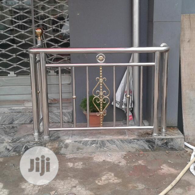 Archive: Stainless Steel Handrail 304