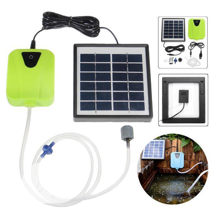 Air Pump Solar Power Pond Oxygenator Pool Aquarium | Farm Machinery & Equipment for sale in Ikoyi, Lagos State, Nigeria