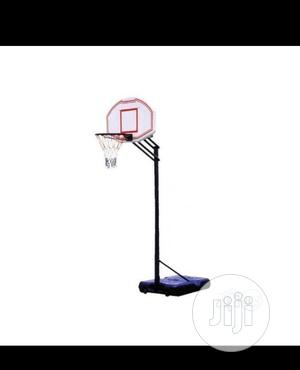Basketball Stand With A Basketball | Sports Equipment for sale in Lagos State, Surulere