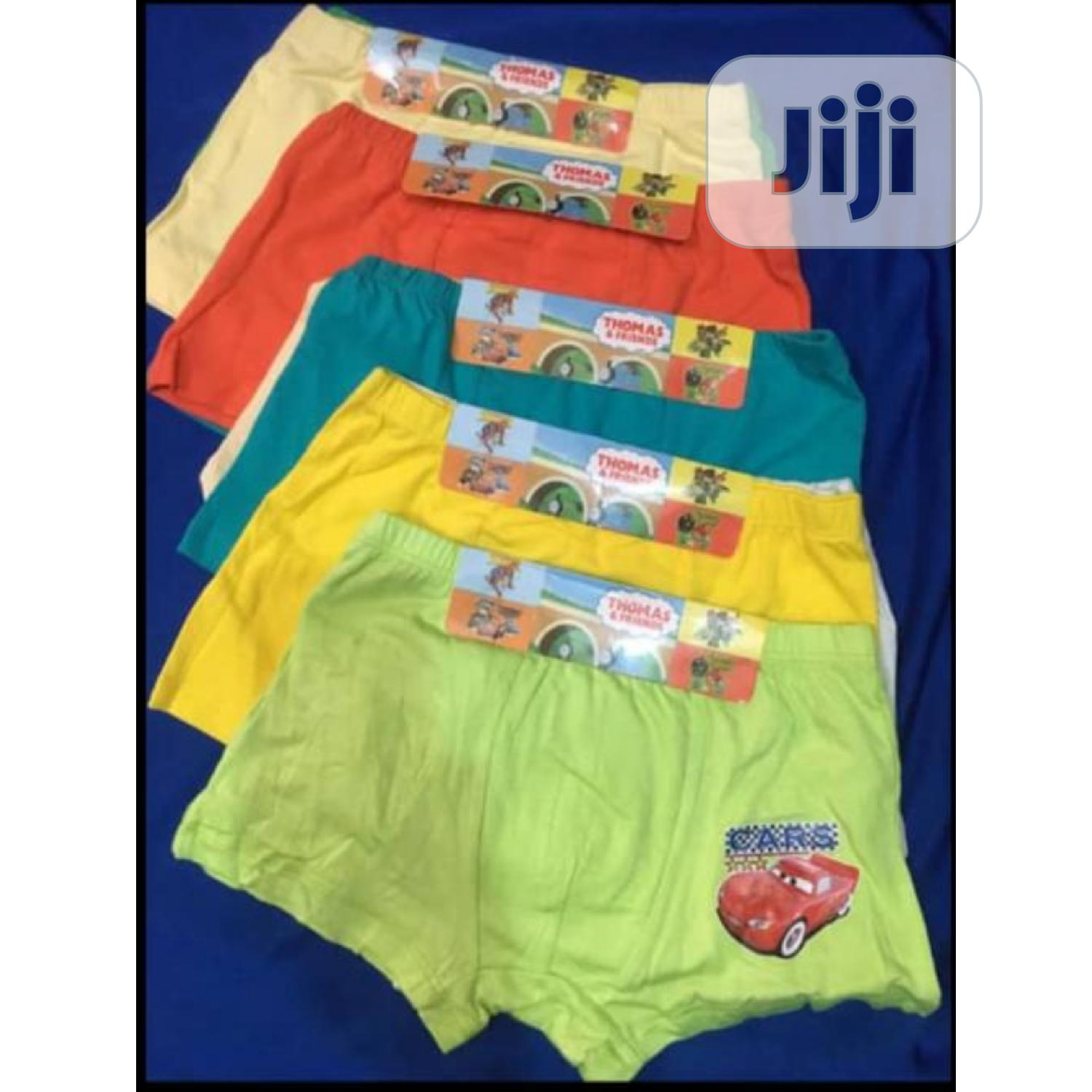 Boys 2 In One Boxer Pant