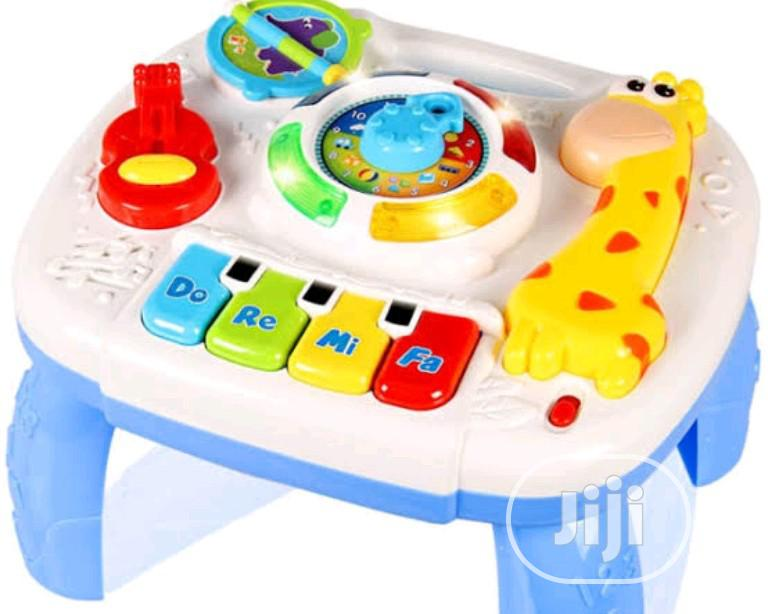 Musical Learning Table Baby Toys