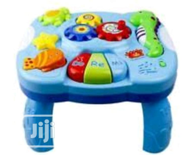 Musical Learning Table Baby Toys   Children's Furniture for sale in Lagos Island (Eko), Lagos State, Nigeria