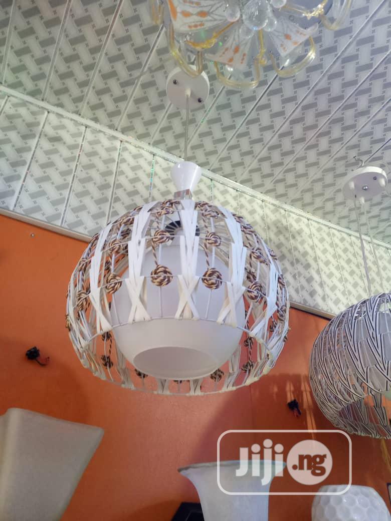 Big Pendant Light White