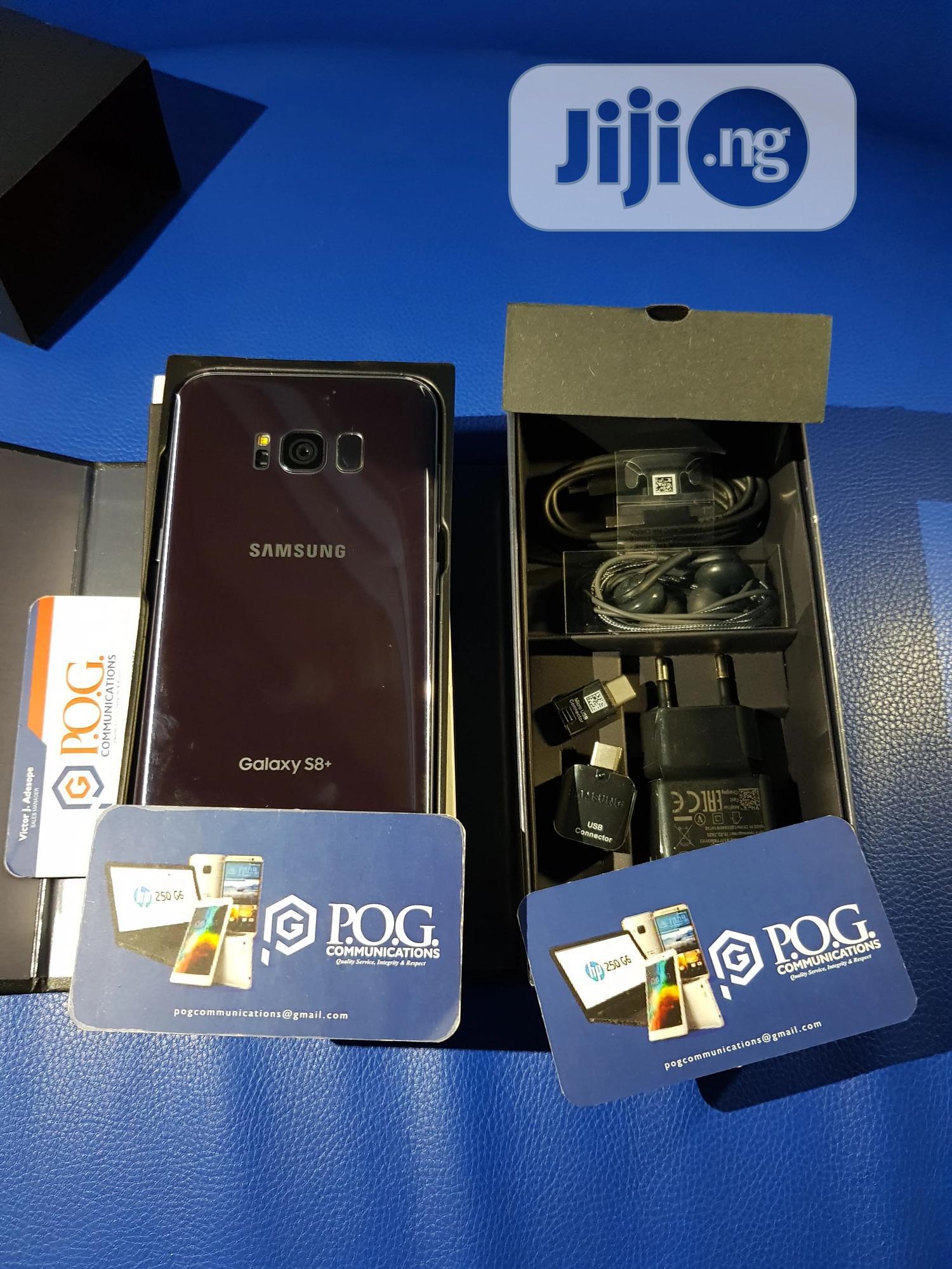 Samsung Galaxy S8 Plus 64 GB Black | Mobile Phones for sale in Ikorodu, Lagos State, Nigeria