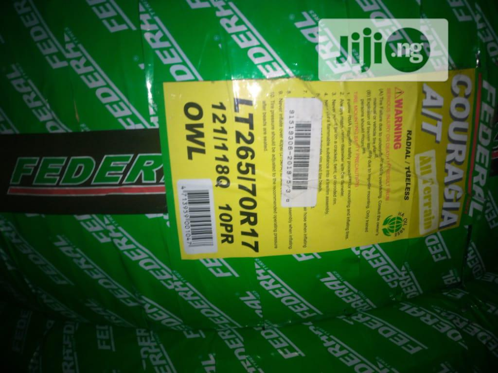 Federal Tyres Size 265/70r17