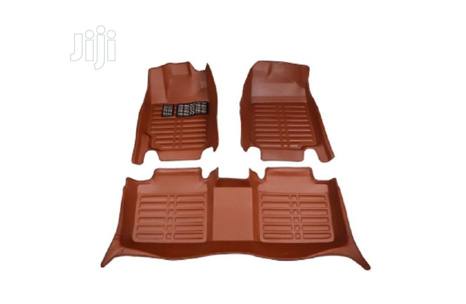 3D Classy Leather Floormat