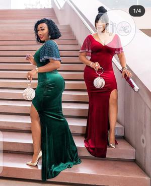 Amazing Velvet Dress | Clothing for sale in Lagos State, Lagos Island (Eko)