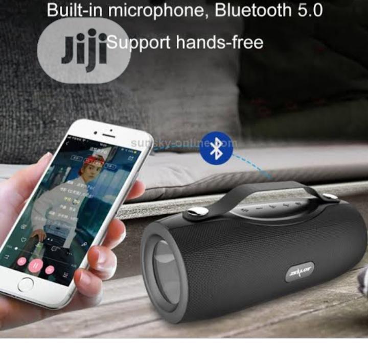 Zealot S29 Wireless Bluetooth Speaker Fm Radio Portable Speaker | Audio & Music Equipment for sale in Ikeja, Lagos State, Nigeria