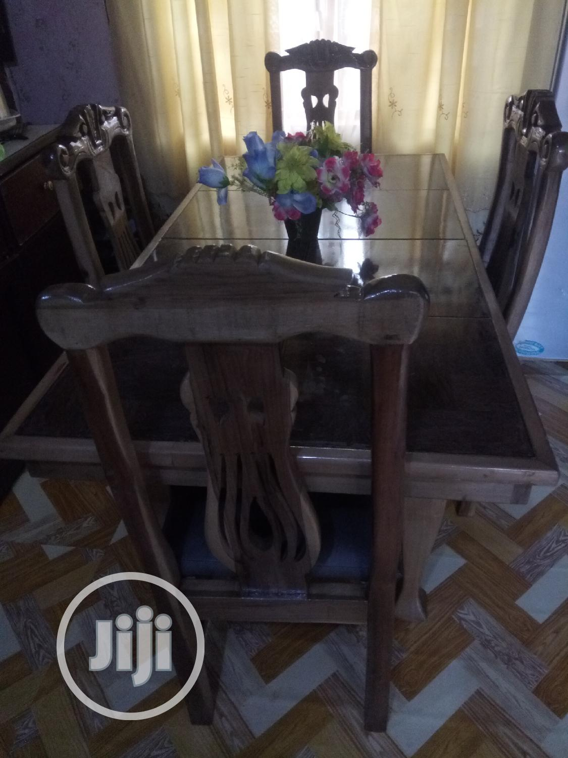 A Newly Made Mable Top Dining Table | Furniture for sale in Enugu, Enugu State, Nigeria