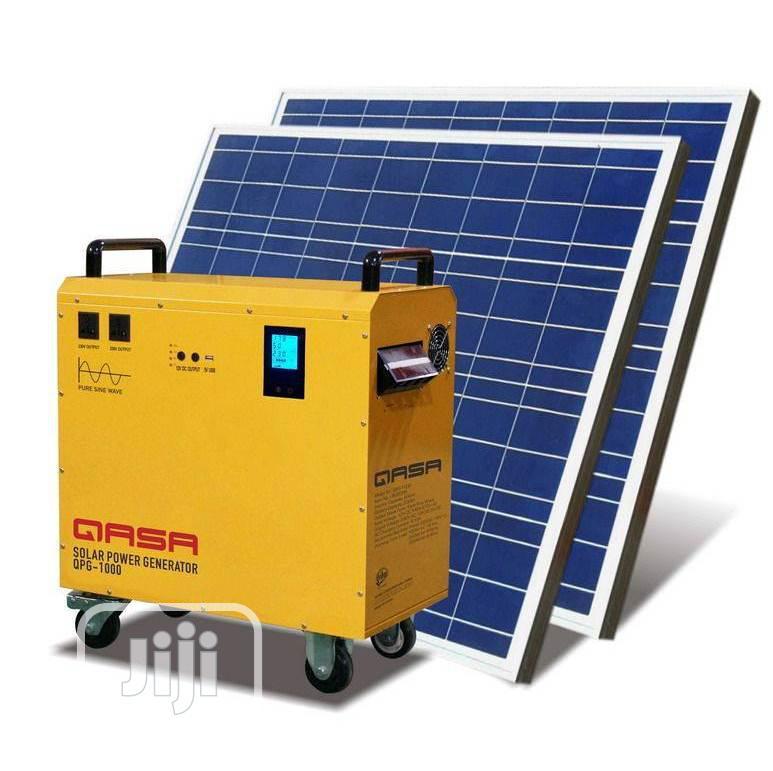 Qasa Solar Power Generator QPS-1000 And Qsp-200w18v