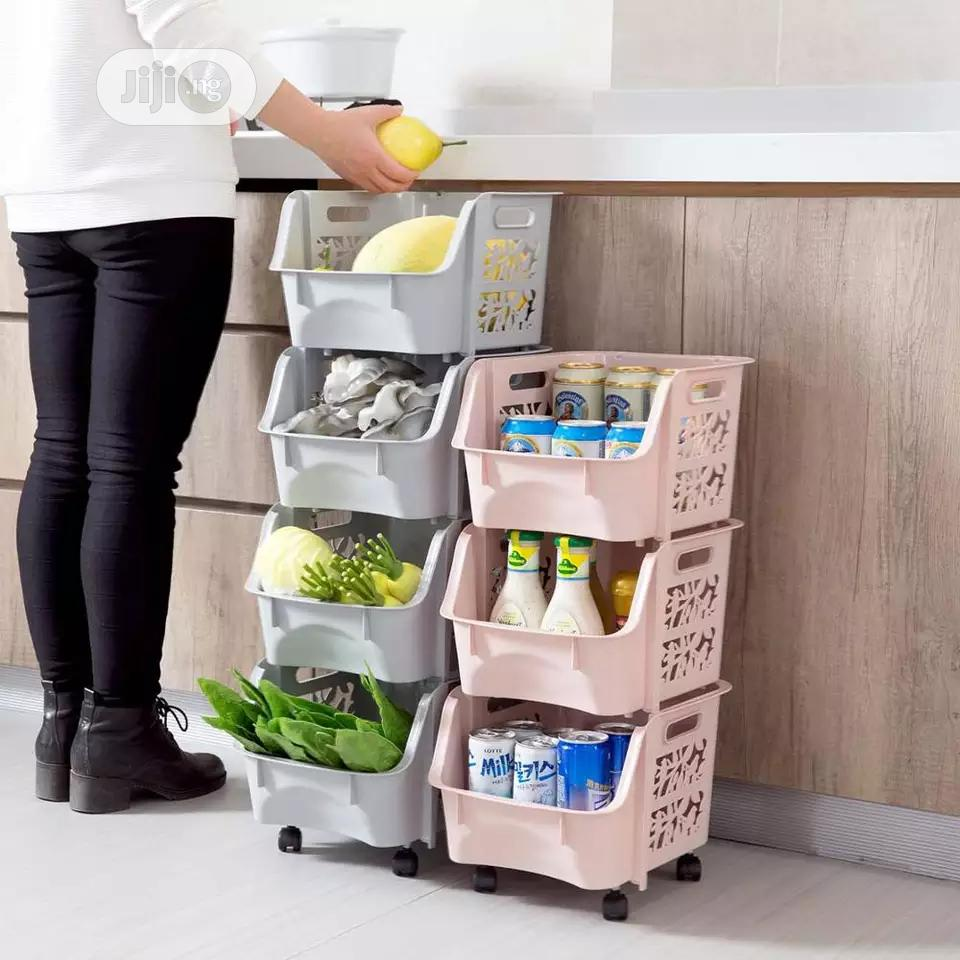3 Tier Multifunctional Storage Trolley/Rack/Organizer | Home Accessories for sale in Maryland, Lagos State, Nigeria