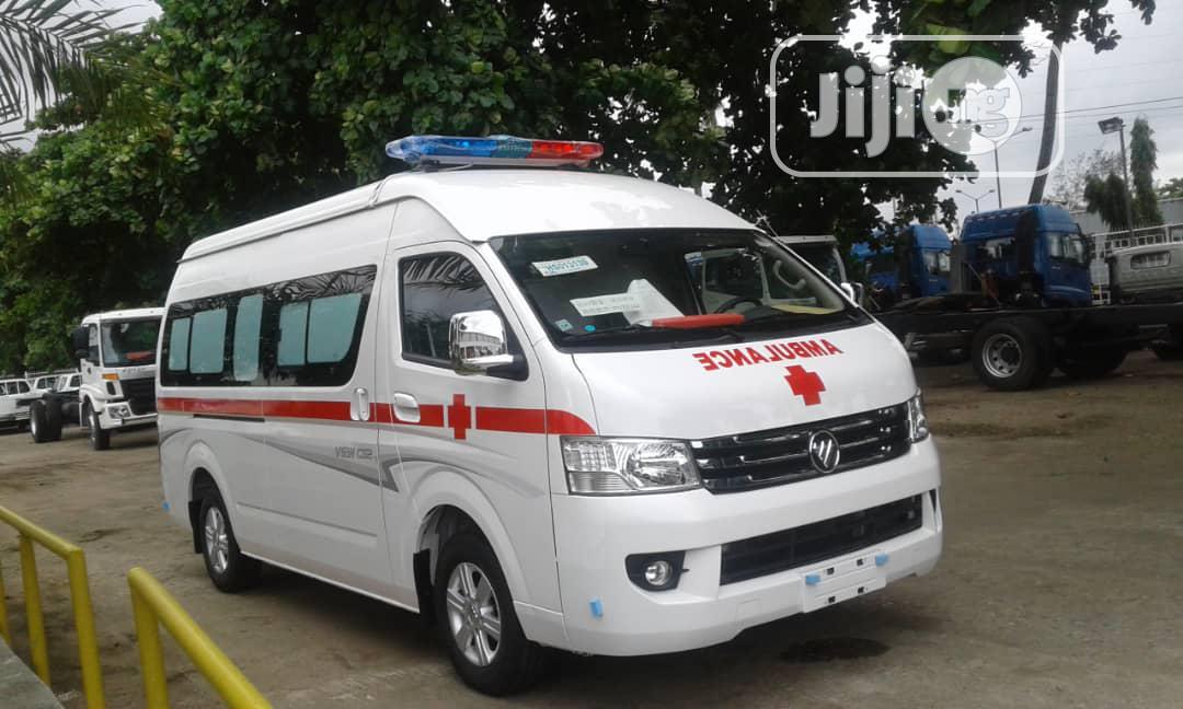 Foton Auman Hiace Ambulance Bus