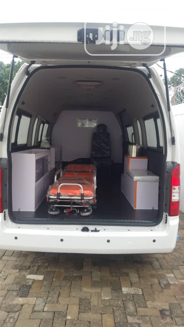 Foton Auman Hiace Ambulance Bus | Buses & Microbuses for sale in Maryland, Lagos State, Nigeria