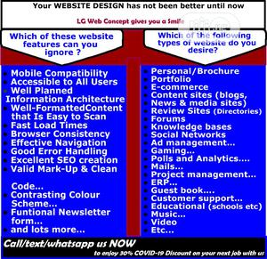 Elegant and Dynamic Website Design   Computer & IT Services for sale in Lagos State, Alimosho