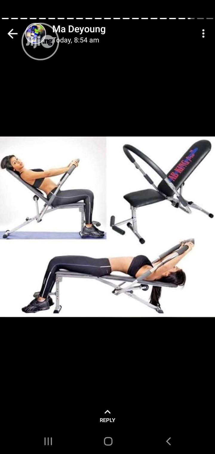 Ab King Abdominal Exerciser Bench | Sports Equipment for sale in Surulere, Lagos State, Nigeria