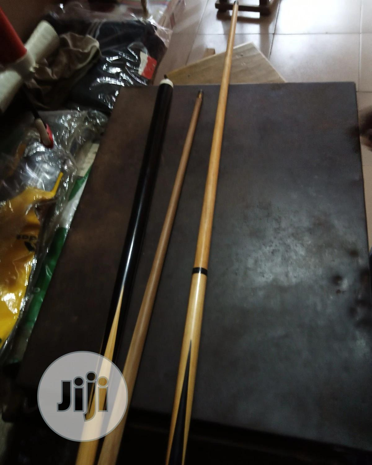 Snooker Stick Detachable | Sports Equipment for sale in Alimosho, Lagos State, Nigeria