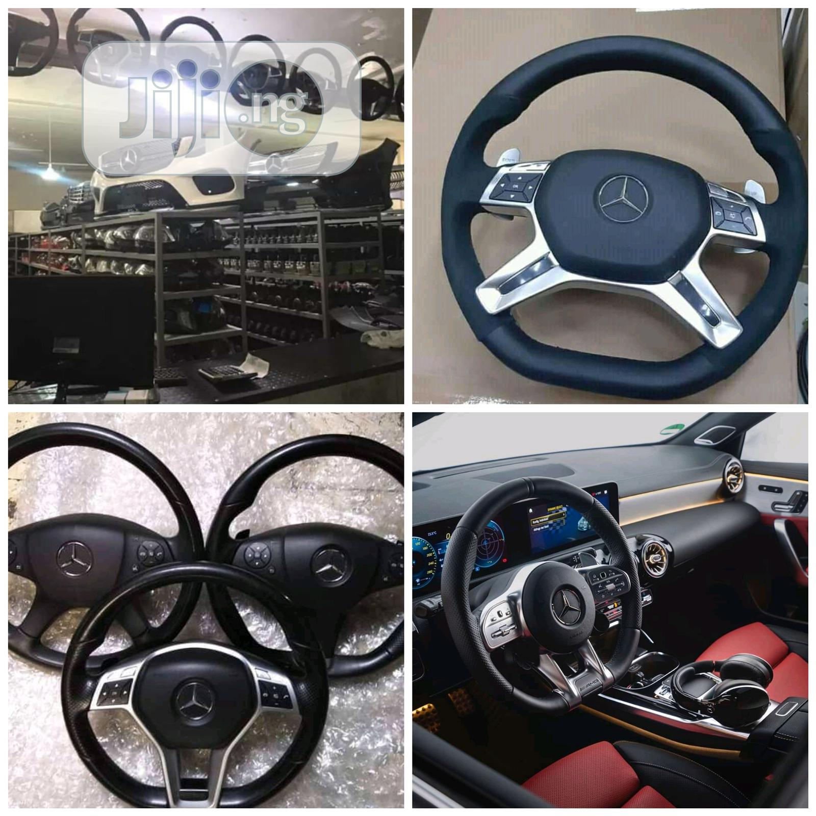 Mercedes Benz Steering Wheel | Vehicle Parts & Accessories for sale in Surulere, Lagos State, Nigeria