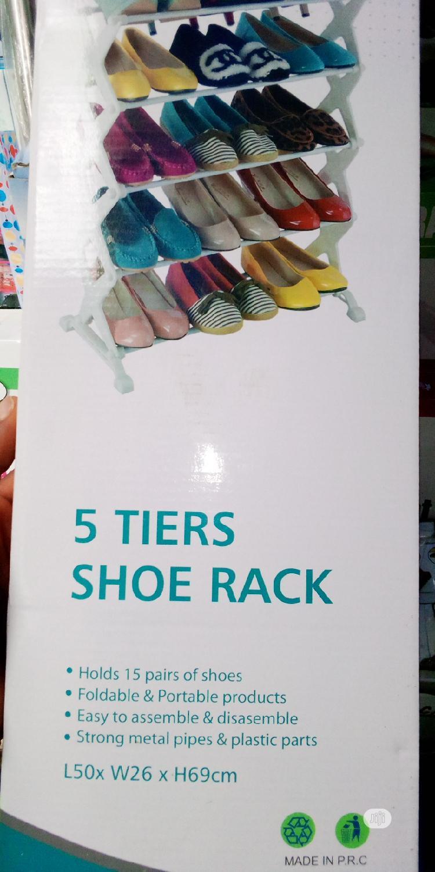 5 Tier Shoe Rack | Furniture for sale in Lagos Island, Lagos State, Nigeria