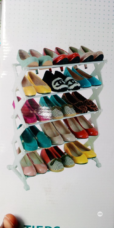 5 Tier Shoe Rack