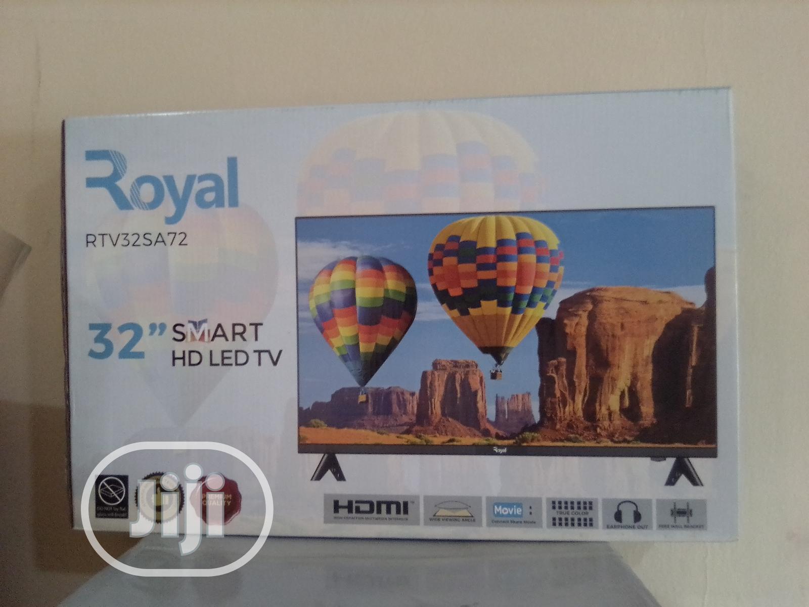 """Royal 32"""" ANDROID Smart Tv With Netflix-32sa72"""