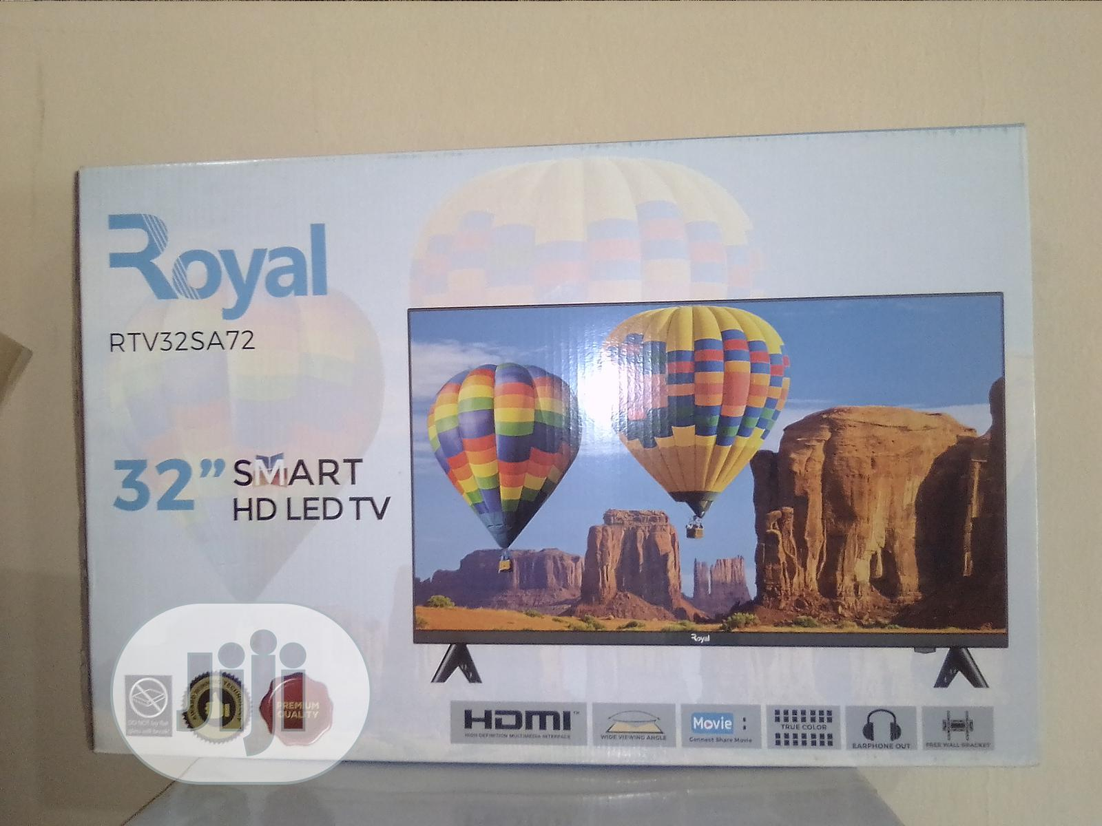 """Royal 32"""" ANDROID Smart Tv With Netflix-32sa72   TV & DVD Equipment for sale in Central Business Dis, Abuja (FCT) State, Nigeria"""