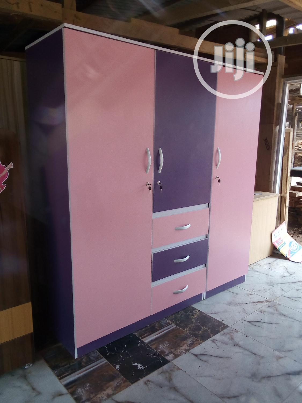 3 Door Wardrobe | Furniture for sale in Agege, Lagos State, Nigeria