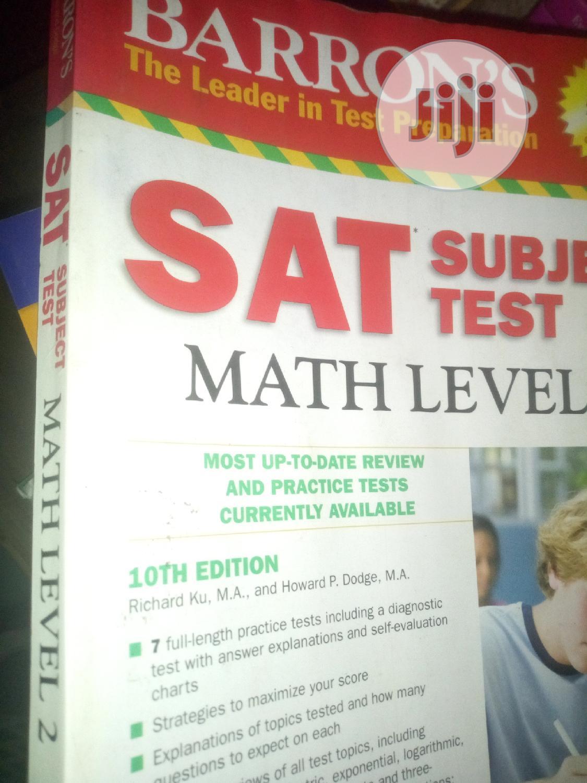 Archive: SAT Subject Test Physics, Chemistry, Maths