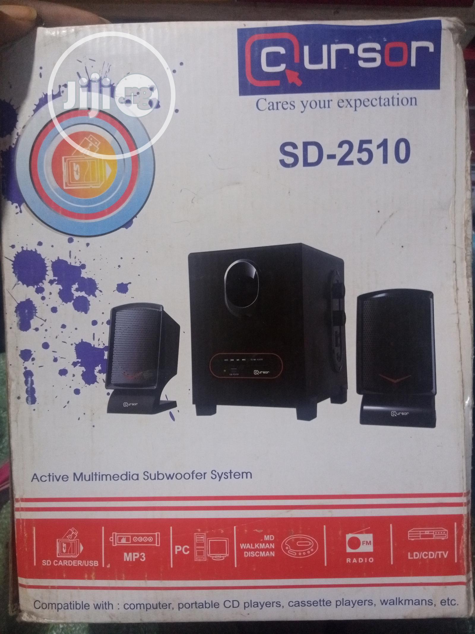 Cursor Multimedia Subwoofer Sound System
