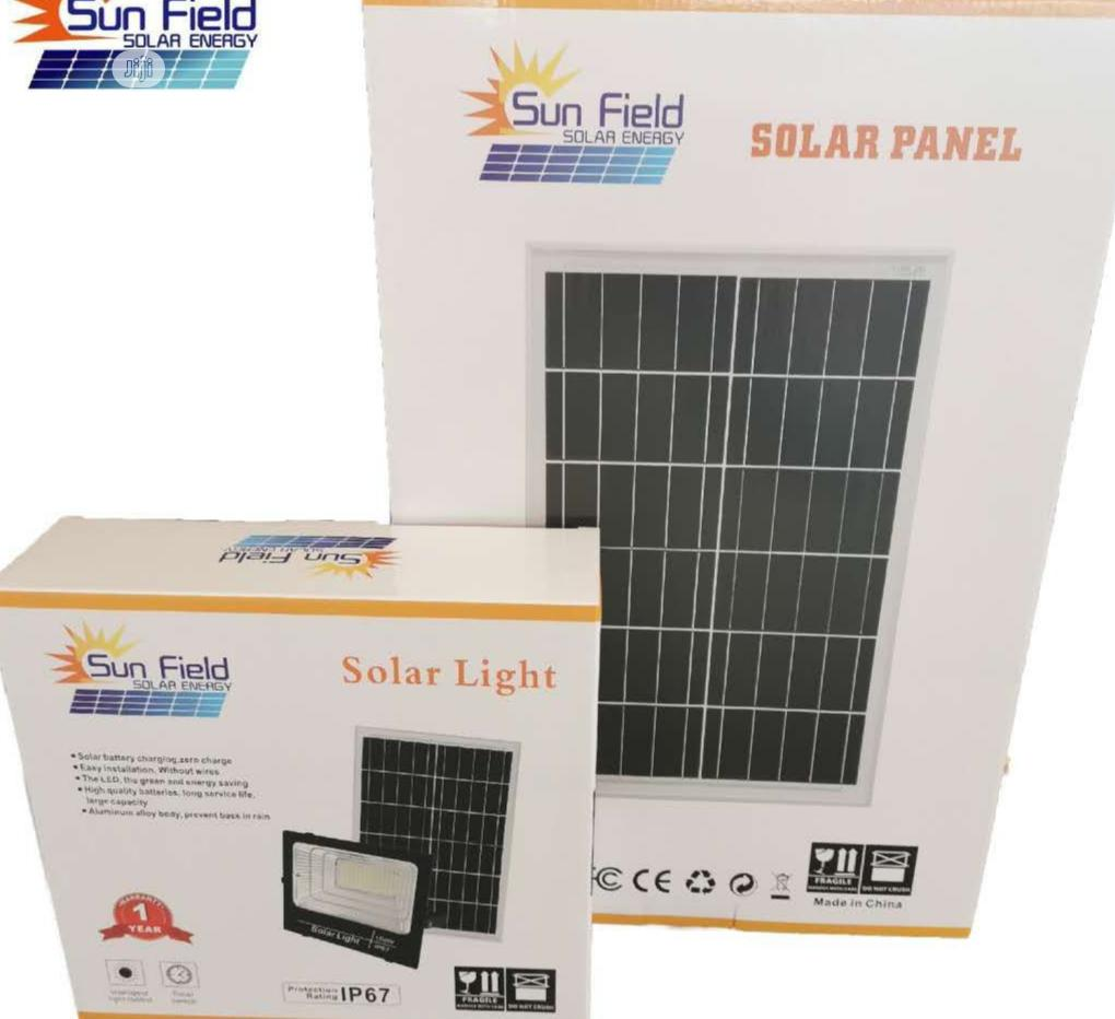 100w Solar Flood Light