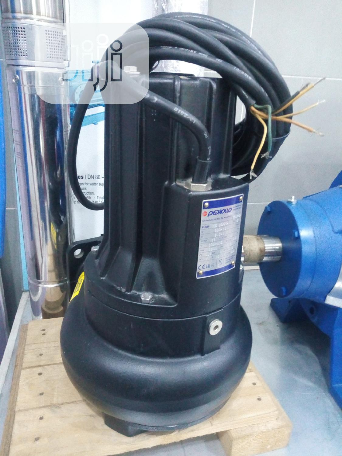 Pedrollo Submersible Sewage Pump