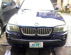 BMW X3 2008 Black   Cars for sale in Lagos State, Victoria Island