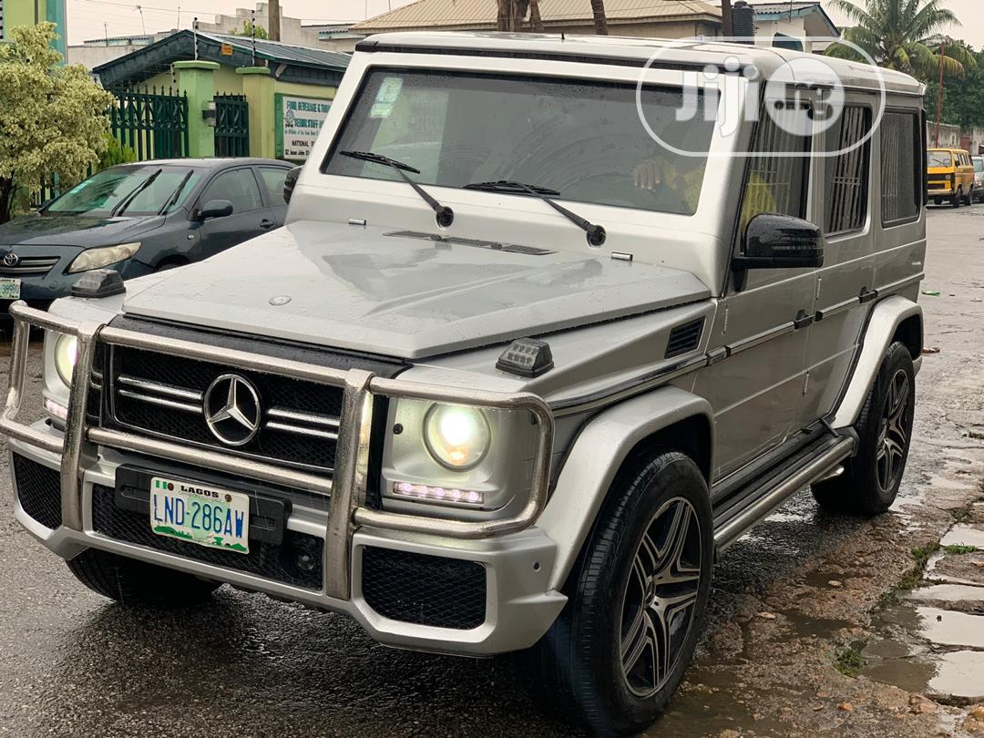 Archive Mercedes Benz G Class 2011 Silver In Ikeja Cars Victor Ng Jiji Ng