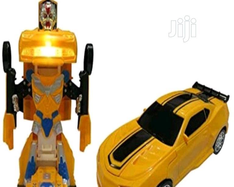 Robot Transform Cars for Boys Fun Toy