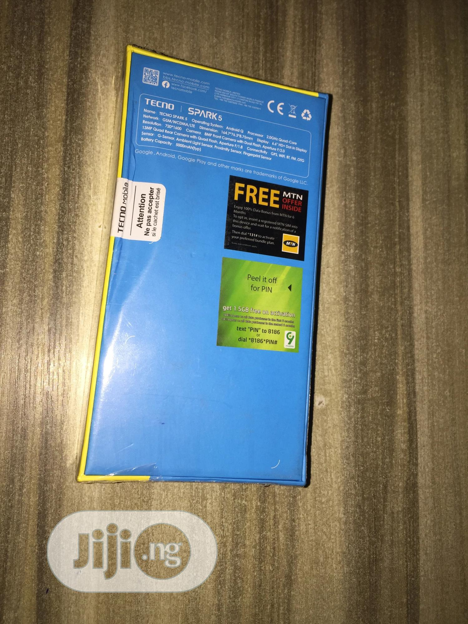 New Tecno Spark 5 32 GB | Mobile Phones for sale in Kubwa, Abuja (FCT) State, Nigeria