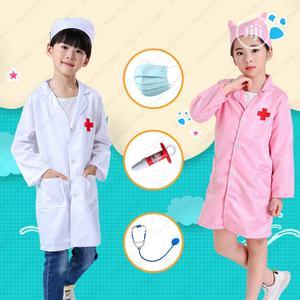 Kids Nurse Doctor Coat Cosplay Costumes Children Hospital Lab Jackets | Children's Clothing for sale in Lagos State, Lagos Island (Eko)
