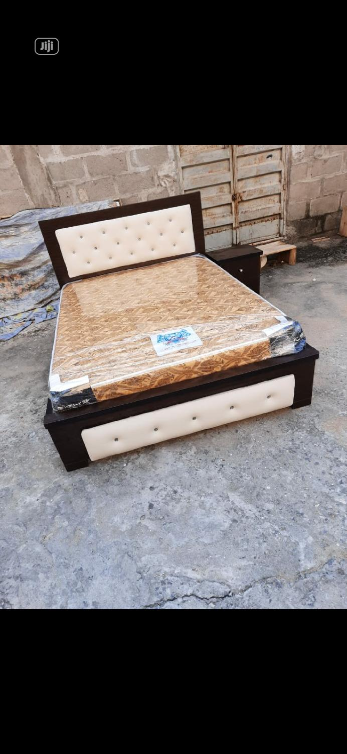 4nd Half Bed Frame With Imported Spring Mattress