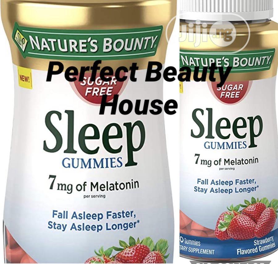 Nature's Bounty Sleep Gummies Tropical Punch Flavored 60 Gummies