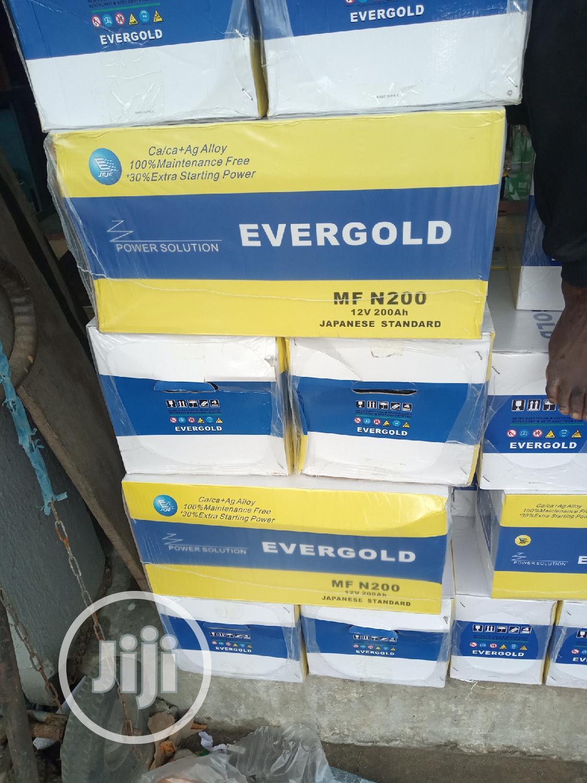 12v 200ah Evergold Battery